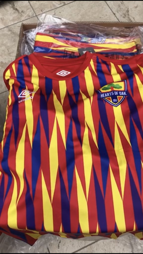 Heads-up: Hearts of Oak to officially launch Umbro kits tomorrow