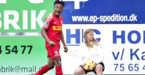 VIDEO: Ghanaian players Isaac Atanga and Godsway Donyoh powers Nordsjaelland to victory in Danish Superliga