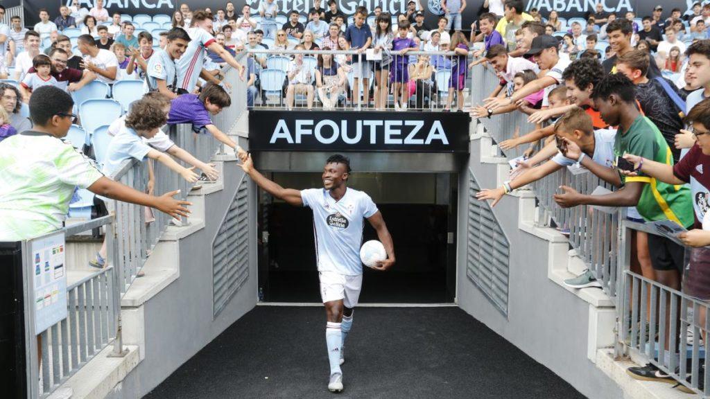 PICTURES: Celta Vigo unveils Ghana's Joseph Aidoo to fans