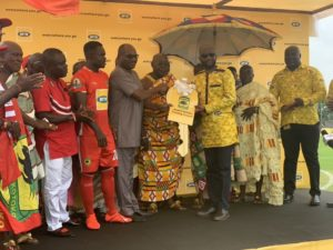 WATCH: MTN hands over second training pitch to Kotoko