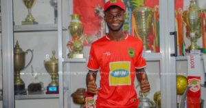 OFFICIAL: Kotoko signs former Wa All Stars winger Kevin Andoh