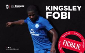 OFFICIAL: Ghana youth star Kingsley Fobi joins CD Badajoz on loan