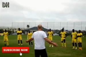 VIDEO: Kotoko Manager Kjetil Zachariassen begins training with team