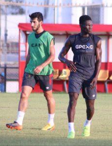 Ex-Kotoko midfielder Kwame Bonsu resume training with new side Esperance de Tunis