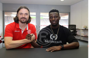 VIDEO: Ghana's Nana Ampomah express delight after completing move to Fortuna Düsseldorf
