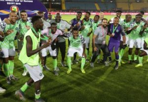 VIDEO: Watch how Nigeria dispatched Tunisia to claim bronze at 2019 cup of nations
