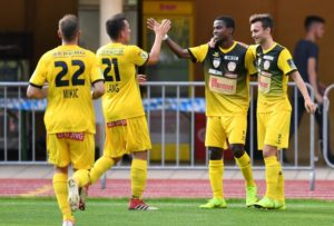 Paul Mensah scores twice in Kapfenberger SV away win against Vorwaerts Steyr