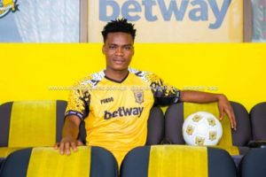 OFFICIAL: Ashgold complete signing of midfielder Razak Simpson on a five-year deal