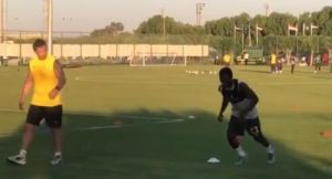 VIDEO: Ghana's Thomas Agyepong finally begins training ahead of Tunisia match