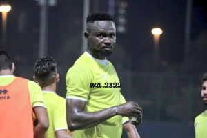 Vincent Atingah begins training with new side Qadsia SC
