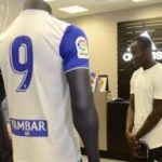 Ghanaian striker Raphael Dwamena to wear No. 9 shirt at Real Zaragoza