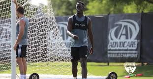 Video: Ghanaian winger Edwin Gyasi scores wonderful goals in his first training session with MLS side FC Dallas