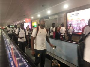 Black Stars arrive after eliminated from 2019 Afcon
