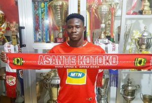 EXCLUSIVE: Ashgold youngster Godfred Asiamah joins Asante Kotoko on a three-year deal