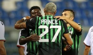 Alfred Duncan admits Sassuolo players will miss KP Boateng