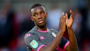 Ghana's Eddie Nketiah scores on Leeds United debut