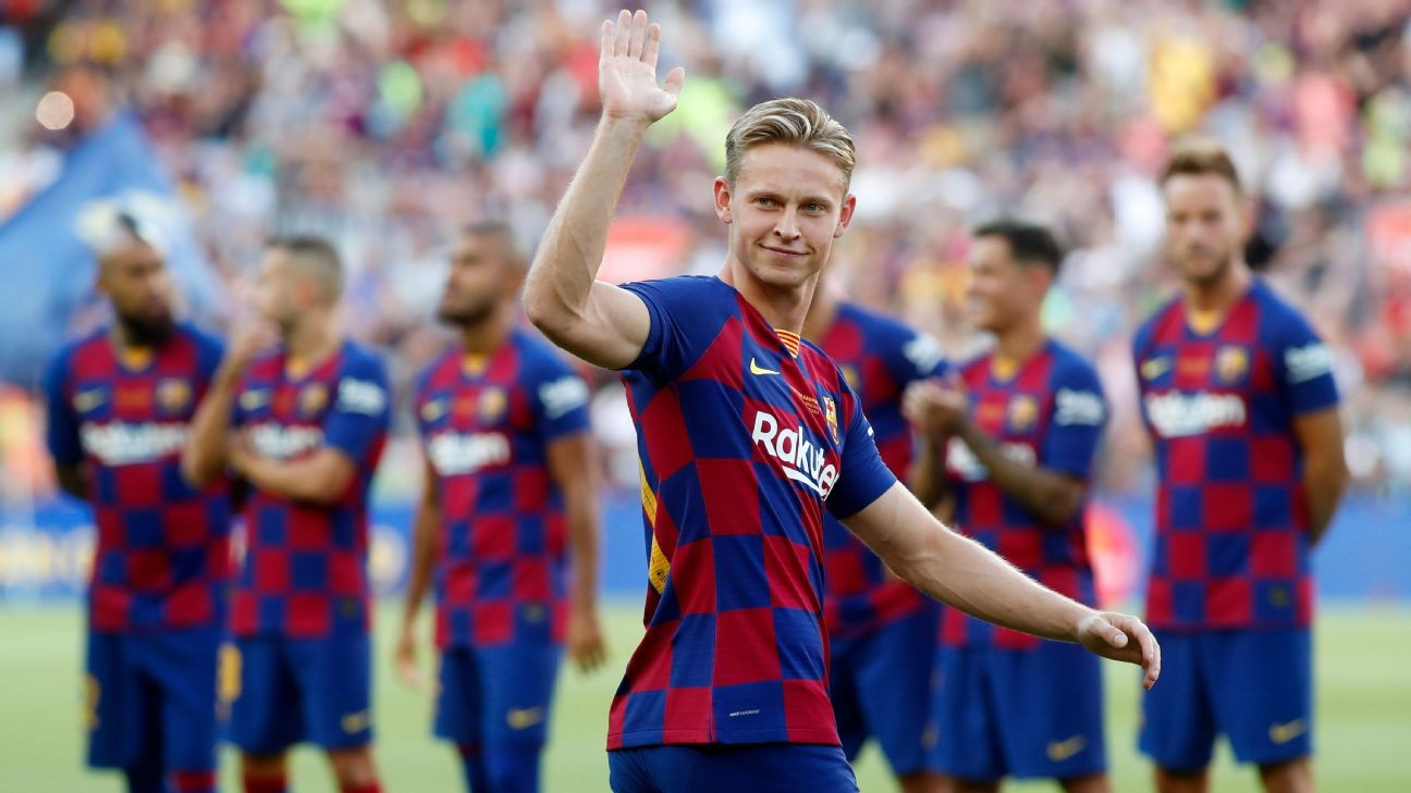 Frenkie de Jong on leaving Ajax, joining Barcelona, hopes for 2019-20 and what he does outside soccer