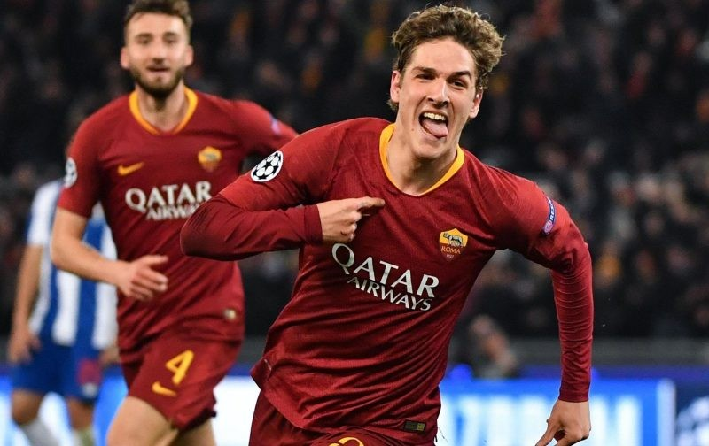 Zaniolo commits to Roma by penning new contract