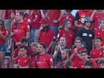 Calentamiento RCD Mallorca vs SD Eibar