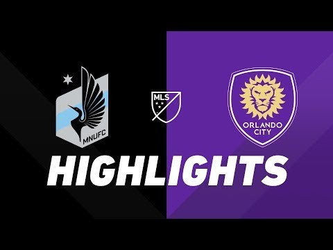 Minnesota United FC vs. Orlando City SC   HIGHLIGHTS - August 17, 2019
