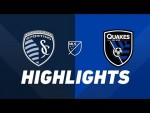 Sporting Kansas City vs. San Jose Earthquakes | HIGHLIGHTS - August 17, 2019
