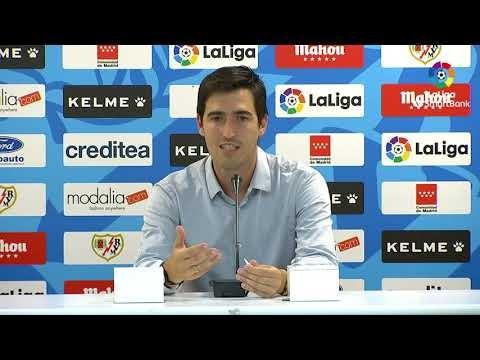 Rueda de prensa de  Andoni Iraola tras el Rayo Vallecano vs CD Mirandés (2-2)