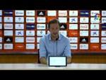 Rueda de prensa de Ramis tras el UD Almería vs Albacete BP (3-0)