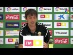 Rueda de prensa de Pacheta tras el Elche CF vs CF Fuenlabrada (0-2)