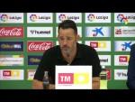 Rueda de prensa de  Baldomero Hermoso tras el Elche CF vs CF Fuenlabrada (0-2)
