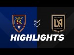 Real Salt Lake vs. LAFC | HIGHLIGHTS - August 17, 2019