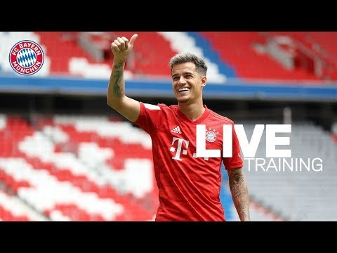 LIVE 🔴 | Training w/ Coutinho, Perišić & Cuisance | FC Bayern Training Livestream