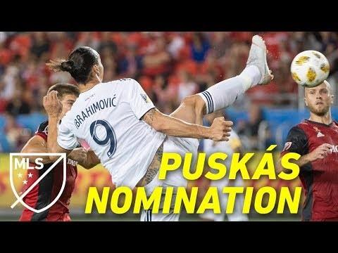 Zlatan's Puskás Nominated Taekwondo Spin Kick Goal | ALL ANGLES + SLOW-MO!