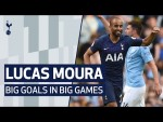 LUCAS MOURA | BIG GOALS IN BIG GAMES | Ajax, Man City, Barcelona
