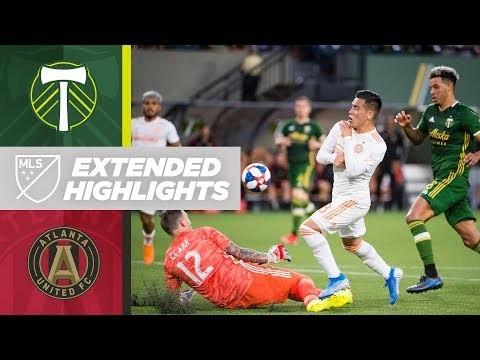 Portland Timbers vs. Atlanta United FC   HIGHLIGHTS - August 18, 2019