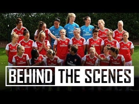 BEHIND THE SCENES | Arsenal Women 2019/20 photocall day