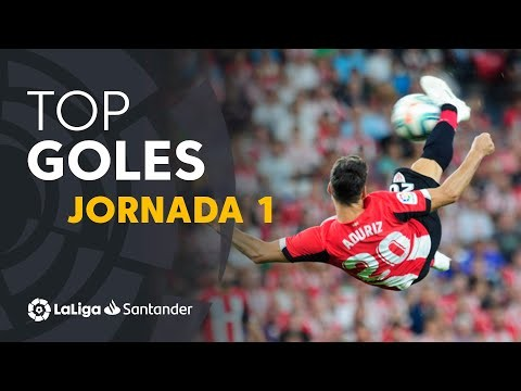 Todos los goles de la Jornada 01 de LaLiga Santander 2019/2020