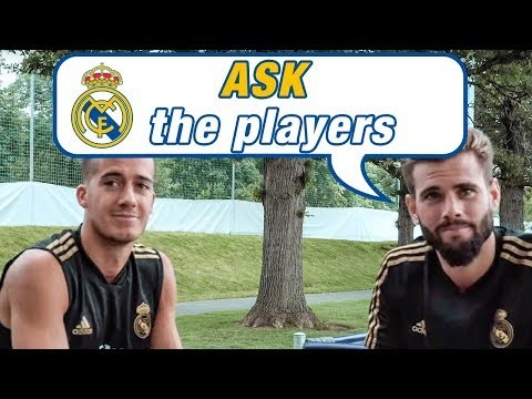 Ask the Real Madrid players | Lucas Vázquez & Nacho