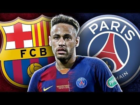Barcelona & PSG To Finalise Neymar's Return This Week!    Transfer Talk