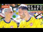 Ozil & Kolašinac...Playing Twister?! 😂| Retro Games with Arsenal