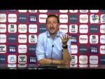 Rueda de prensa de  Luis Miguel Ramis tras el Albacete BP vs Girona FC (1-0)