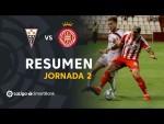 Resumen de Albacete BP vs Girona FC (1-0)