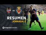 Resumen de Levante UD vs Villarreal CF (2-1)