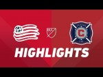 New England Revolution vs. Chicago Fire | HIGHLIGHTS - August 24, 2019