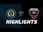 Philadelphia Union vs. D.C. United | HIGHLIGHTS - August 24, 2019