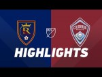 Real Salt Lake vs. Colorado Rapids | HIGHLIGHTS - August 24, 2019