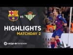Highlights FC Barcelona vs Real Betis (5-2)