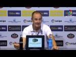 Rueda de prensa de  Víctor Fernández tras el SD Ponferradina vs Real Zaragoza (1-1)