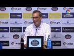 Rueda de prensa de  Jon Pérez Bolo tras el SD Ponferradina vs Real Zaragoza (1-1)