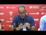 Rueda de prensa de Álvaro Cervera tras el CD Mirandés vs Cádiz CF (1-2)