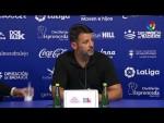 Rueda de prensa de Baldomero Hermoso tras el Extremadura UD vs CF Fuenlabrada (1-2)
